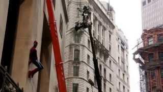 Съемки фильма Человек Паук 2 высокое напряжение 2014 (The Amazing Spider-Man 2)