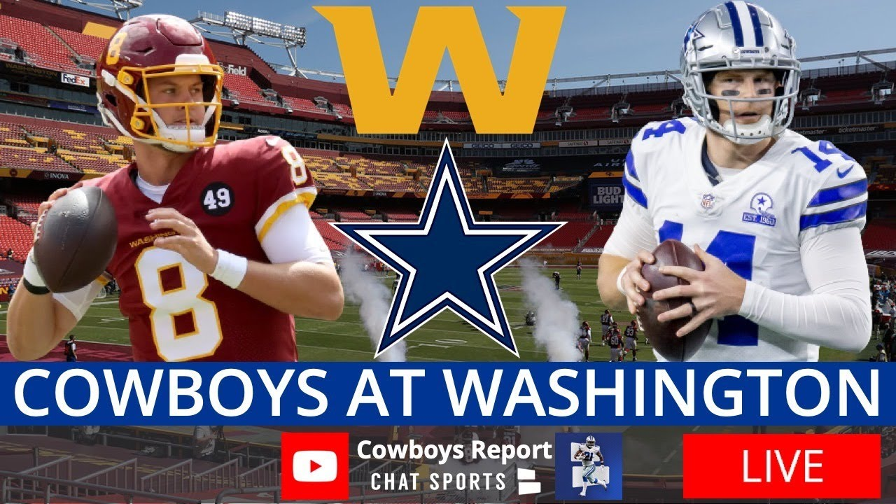Cowboys vs. Washington Live Streaming Scoreboard, Play-By-Play, Highlights & Stats | NFL Week 7 - download from YouTube for free