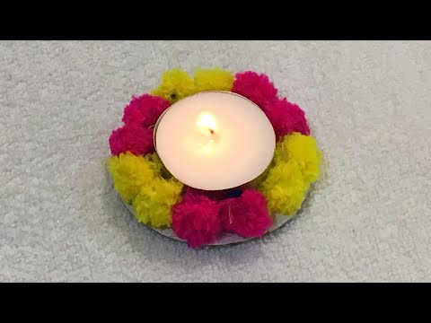 How To Decorate Diya at home