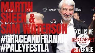 Martin Sheen & Sam Waterson interview from Netflix's Grace and Frankie at #PaleyFestLA 2019