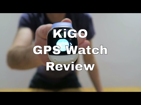 KiGO GPS Child Tracking Watch Review