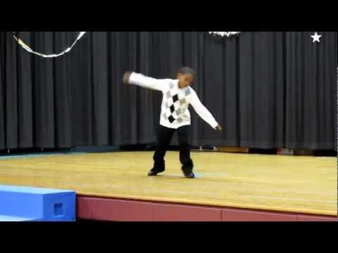 Chris Brown Dancing at Age 6