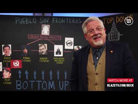 Glenn Beck Chalkboard Lesson: Chicago Marxists Are Pulling The Strings On The Attack On Our Border