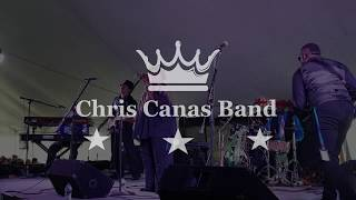 Chris Canas Band: Rock Me Baby LIVE at the Tawas Blues Festival 2018