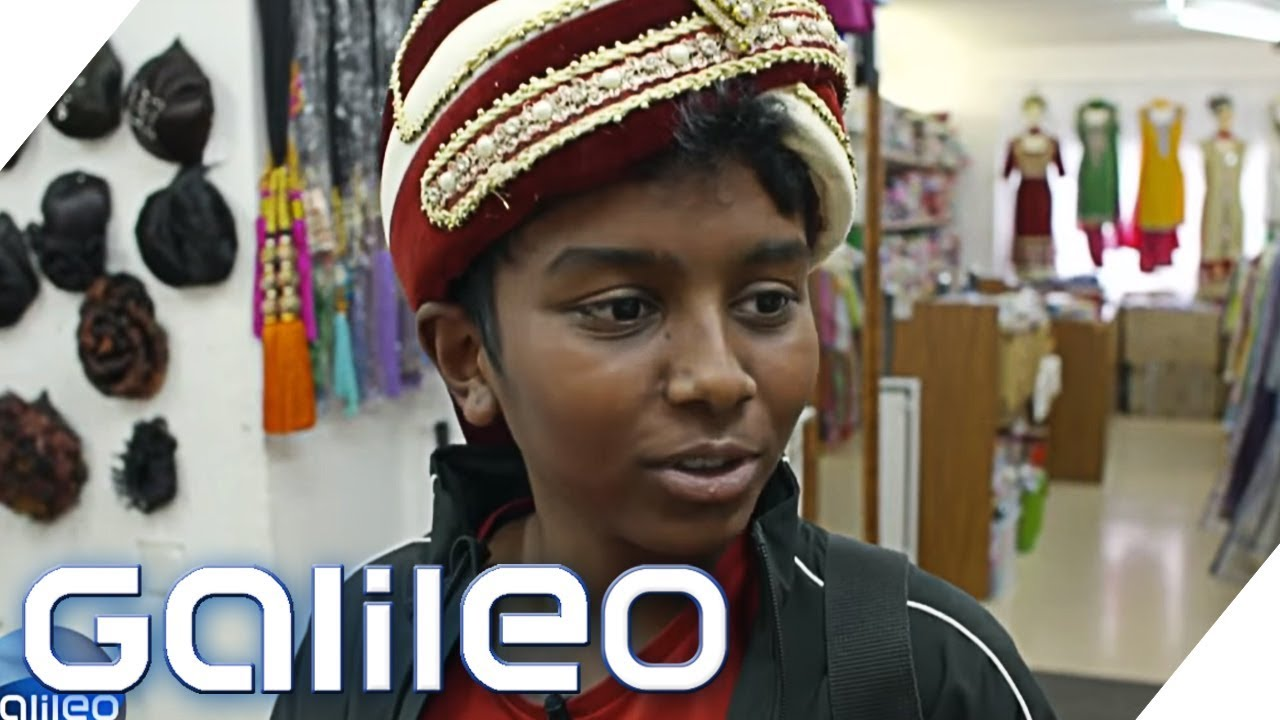 Exotische Kleidung und fremde Götter - Klein-Indien in Deutschland | Galileo | ProSieben