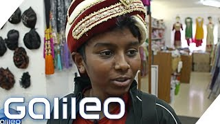 Exotische Kleidung und fremde Götter - Klein-Indien in Deutschland   Galileo   ProSieben