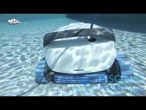 Nueva gama 2015 limpiafondos dolphin serie s youtube for Piscinas ferromar