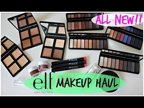 NEW ELF Makeup Haul | $6 Contour Kit, Palettes, & More!