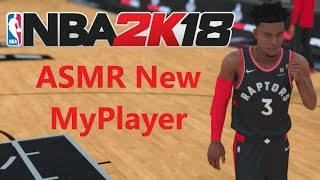 ASMR Gaming: NBA 2K18 New MyPlayer! [Whispered] [Controller Sounds]