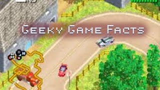 Racing Gears Advance GamePlay with Geeky Game Facts
