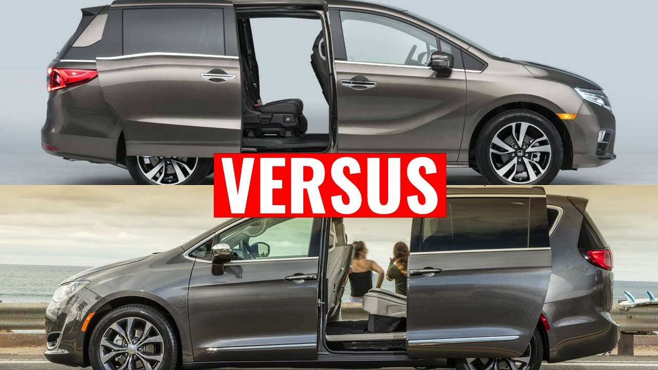 2018 Honda Odyssey Vs Chrysler Pacifica