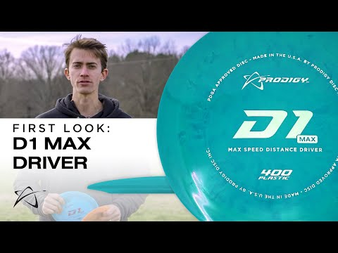 First Look: Prodigy D1 Max Distance Driver | Disc Review