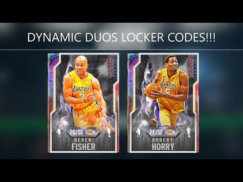 Derek Fisher & Robert Horry Locker Codes | NBA 2K20 MyTEAM