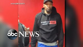Kevin Durant practices ahead of NBA finals Game 5