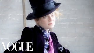 """Emma Stone Finds Her """"Vampy"""" Side On Our July Cover Shoot"""