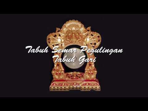BALINESE MUSIC - GAMELAN SEMAR PEGULINGAN TABUH GARI