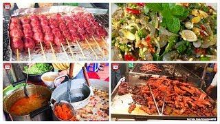 Top Street Food In Cambodia, Asian Street Food, Fast Food Street in Asia #280