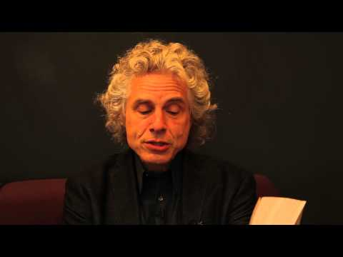 Steven Pinker Interview and Reading