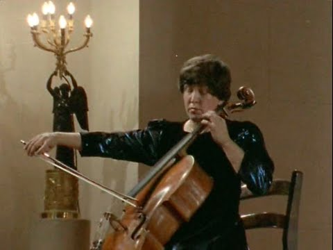 Natalia Gutman plays Bach Cello Suite no. 6, BWV 1012 - Alle