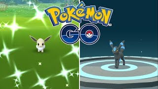 COMMUNITY DAY DE EEVEE DÍA 2! UMBREON SHINY, CAPTURAS ÉPICAS Y MUCHO MÁS! [Pokémon GO-davidpetit]