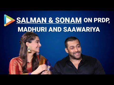 Salman Khan | Sonam Kapoor | Prem Ratan Dhan Payo | Full Interview | Madhuri Dixit | Bhansali
