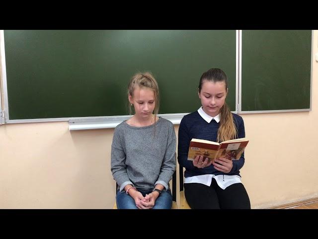 Изображение предпросмотра прочтения – «Полина Кузьмина, Елизавета Кравченко» читает произведение «Последнее свидание» И.С.Тургенева