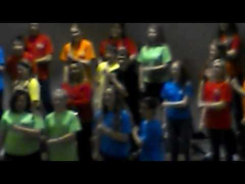 Caro middle schools singing grade 8th and 7th