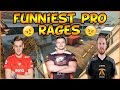 CSGO FUNNIEST PROFESSIONAL PLAYER RAGES !!