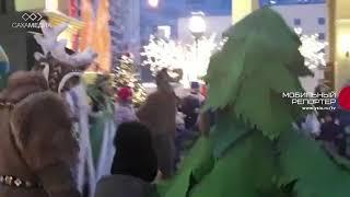 Рождественский осуохай в Москве