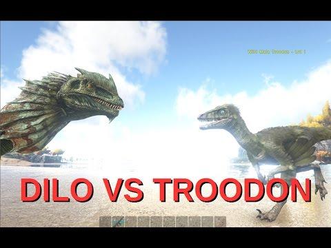ARK: Dilo vs Troodon