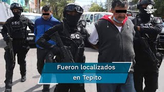 Los dos sujetos y la camioneta en donde transportaron la medicina fueron presentadas por elementos de la Secretaría de Seguridad Ciudadana