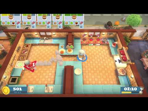 Overcooked! All You Can Eat 1-4 4 Stars Co-op |