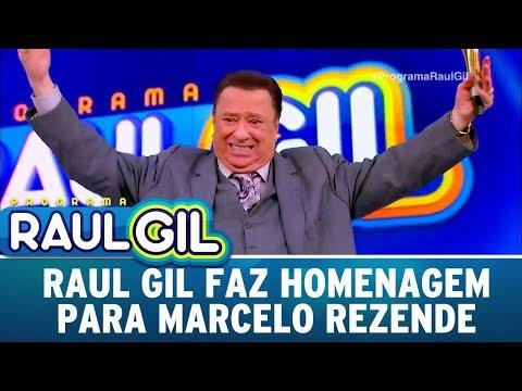 Raul Faz Linda Declaração Para Marcelo Rezende | Programa Raul Gil (23/09/17)