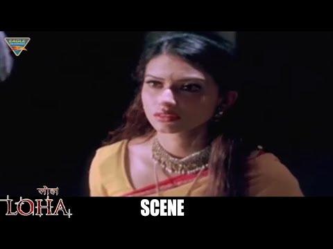 Loha The Iron Man Hindi Dubbed Movie Scenes - Gowri Pandit & Gopi Chand Love Scene - Eagle Movies