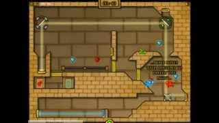 Огонь и вода светлый храм(Небольшая демонстрация популярной онлайн игры для двух человек. Поиграть в Огонь и Воду можно тут: http://playmap.r..., 2014-01-26T14:30:39.000Z)