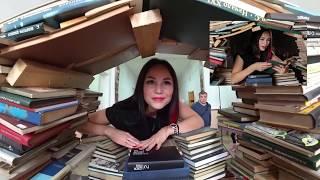 Фотосессия в библиотеке, Красивые девушки.