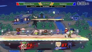 Dream Smash 2018 #29 ~ Mewtwo Mainer (Mewtwo / Mario) vs. Dandelion (Cloud) ~ Round Robin