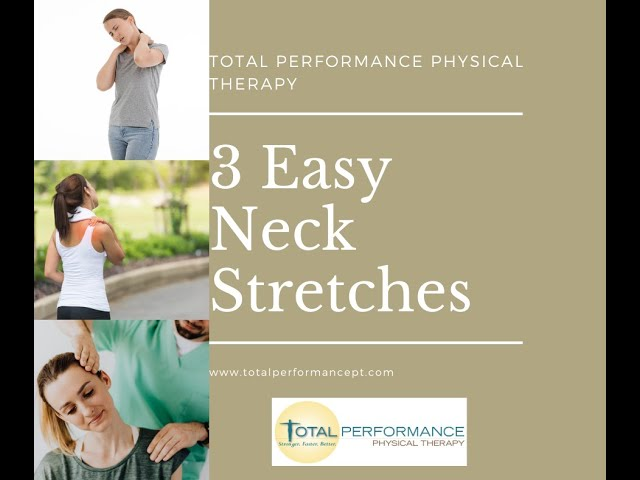3 Easy Neck Stretches