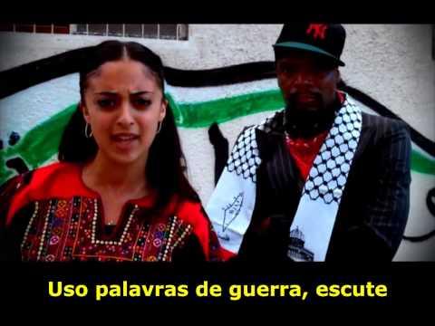 SHADIA MANSOUR- KEFFIYEH [TRADUZIDO/LEGENDADO] Ft. M1(DEAD PREZ) (HD 720p))