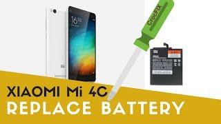 xiaomi Mi 4C - Replace Battery tutorial by CrocFIX
