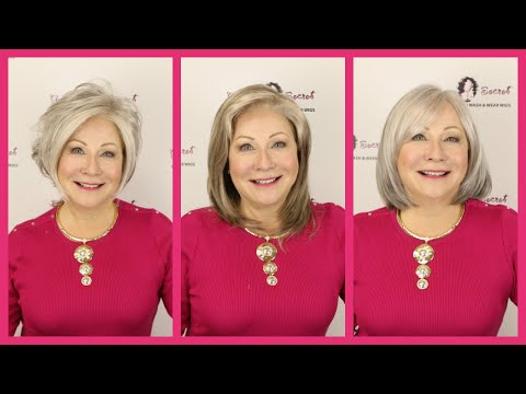 Grey Lace Front Wigs (Official Godiva's Secret Wigs Video)