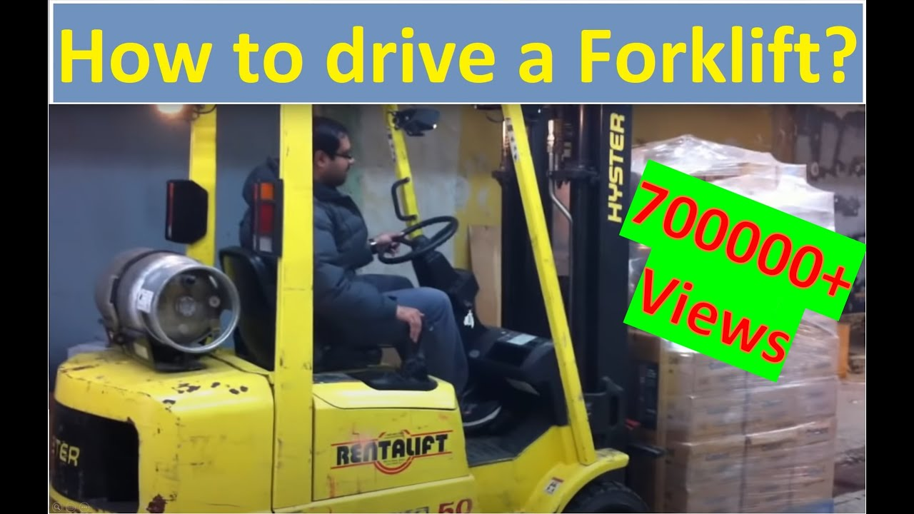 4 Prong Forklift Detroit Ddec 2 Ecm Wiring Diagram How To Operate Drive A Training Lesson Hd Youtube