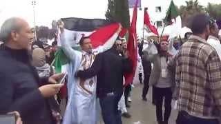 مواجهات بين المغاربة والبوليساريو في تونس