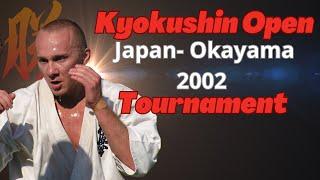 Athlete Cup - Japan Okayama, 2002 Kyokushin Karate Tournament.