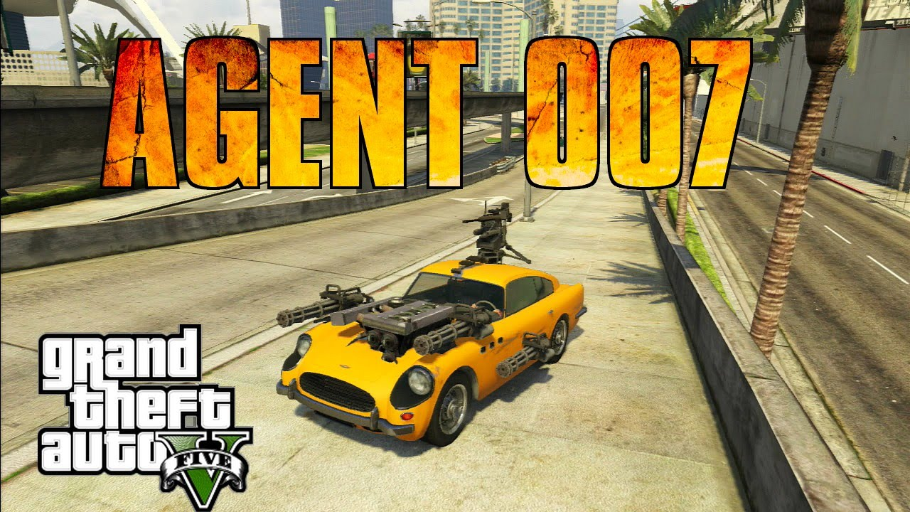 Voiture de l 39 agent 007 gta 5 modded v hicule 9 youtube for Voiture garage gta 5