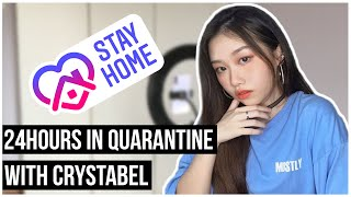 24 Hours In Quarantine With Crystabel