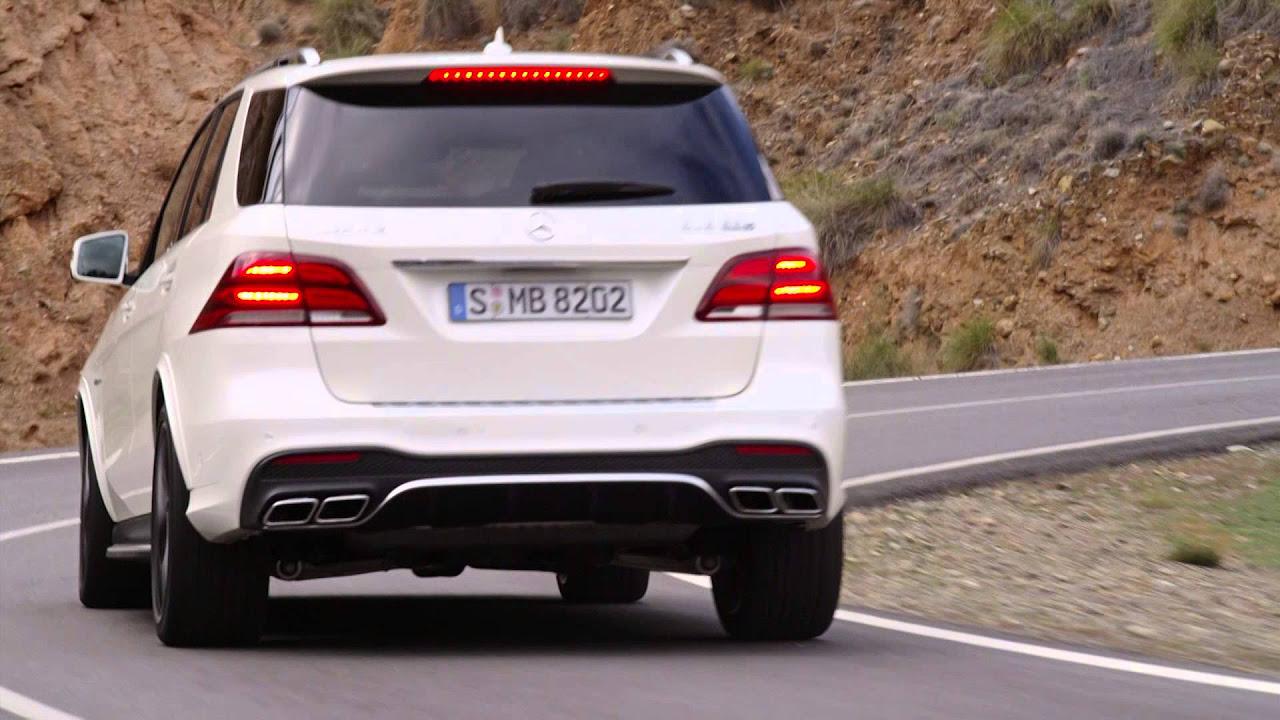 2016 Mercedes-AMG GLE 63 S video presentation