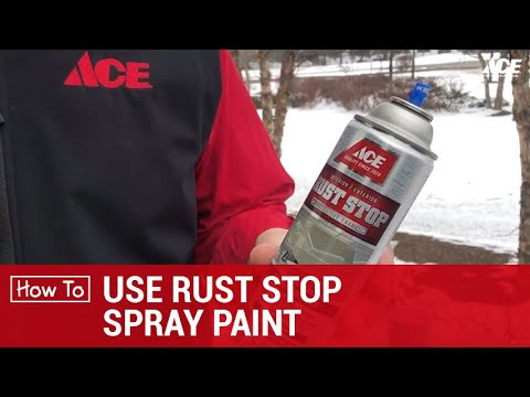How To Use Rust Stop Spray Ace Hardware