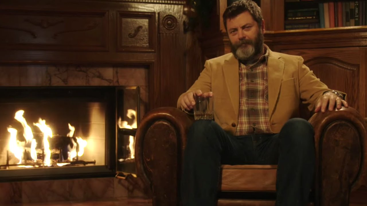 nick offerman 39 s brilliant lagavulin scotch ad what 39 s trending now youtube. Black Bedroom Furniture Sets. Home Design Ideas