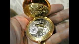 Elgin Hunter Pocket watch circa 1911 - 15 Jewels serial 15350157 Grade 314 size 12